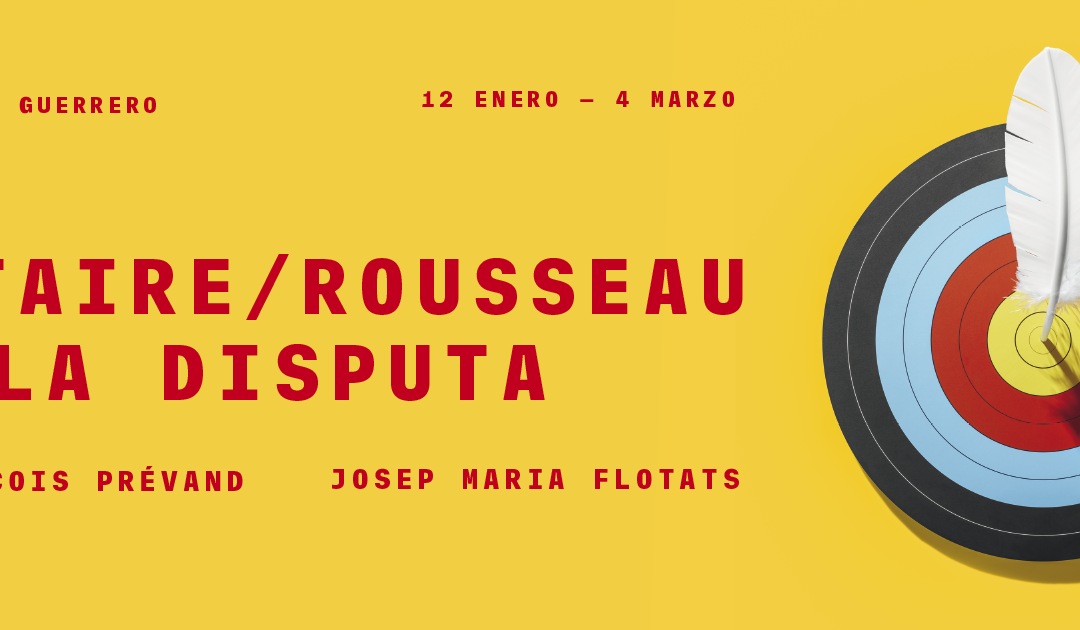 Voltaire y Rousseau en el teatro